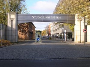 Eingangstor zum Filmstudio Potsdam-Babelsberg / Foto: Studio Babelsberg AG