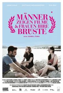 """Filmplakat """"Männer zeigen Filme & Frauen ihre Brüste"""""""
