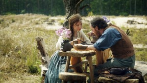 Arm, aber nicht ganz glücklich: Ilsebill (Katharina Schüttler) und Hein (Fabian Busch) / Foto: NDR/Zeiglerfilm/Felix Cramer
