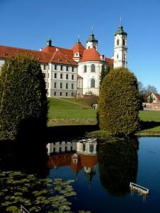 Seerosenteich Kloster Ottobeuren / Foto: Richard Mayer / Wikimedia Commons