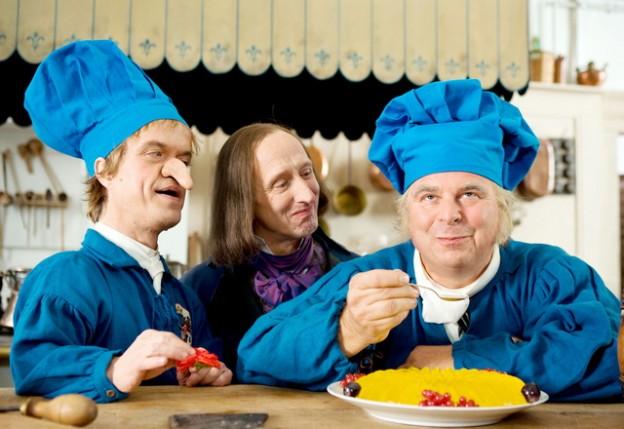 Peter Rauch, Gilbert von Sohlern, Michael Markfort / Foto: BR