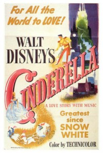 "Filmplakat ""Cinderella"" (1950) / © Disney Enterprises, Inc. All Rights Reserved."
