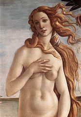 """Detail von """"Die Geburt der Venus"""" / Foto: Wikimedia Commons"""