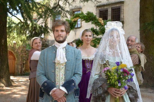 Landgraf Konrad (Peter Foyse) heiratet – aber wen eigentlich? / © BR/Hubert Mican