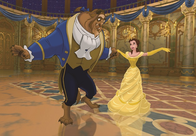 Original: Belle und das dem Biest im Animations-Märchenklassiker von 1991 / © Disney Enterprises, Inc. All Rights Reserved.