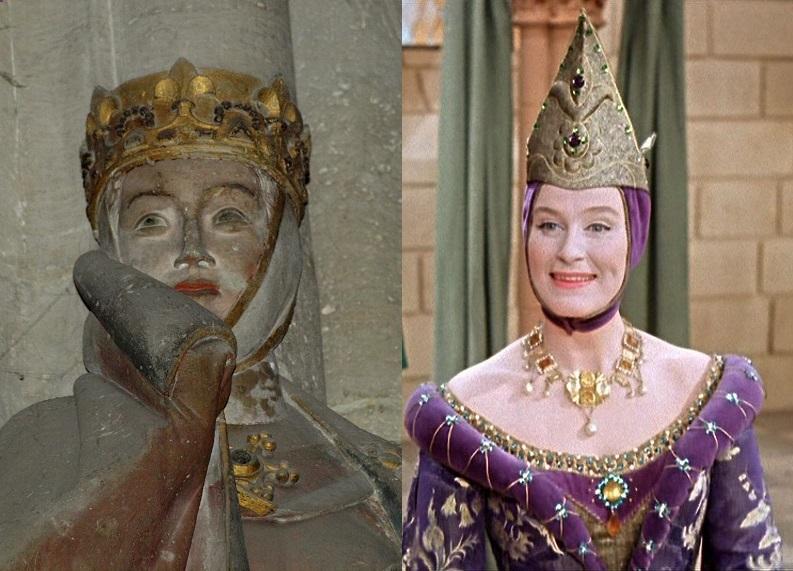 Historisches Vorbild: Markgräfin Uta (l.) und die böse Königin / © Paul Marx/pixelio.de und Icestorm (Fotomontage)