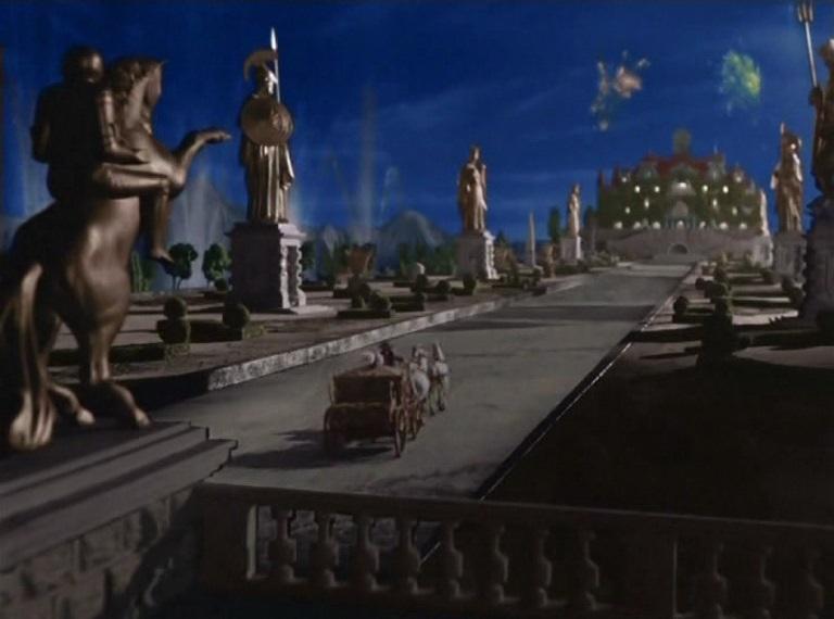 """Disney-Stil: Die Ausstattung erinnert an Disney-Zeichentrickfilme wie """"Cinderella"""" (USA 1950) / Quelle: Petershop GmbH"""