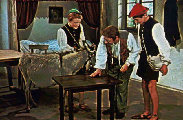 Tischlein deck dich (BRD, 1956, R: Jürgen von Alten): Der Märchenfilm entsteht in Agfacolor / © Icestorm Distribution