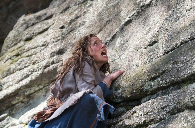 Freeclimbing: Jola (Svenja Jung) muss schwierige Prüfungen bestehen / © ZDF/Anke Neugebauer/Kinderfilm GmbH