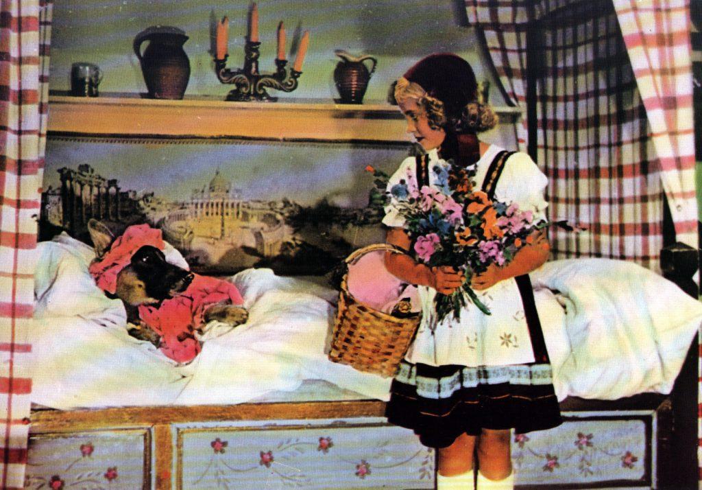 """""""Rotkäppchen"""" (1953): Grimm'sches Märchen als farbiger Mittelteil / © Medienproduktion und Vertrieb Genschow"""