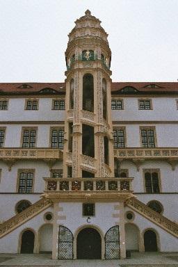 Dornröschen (1971): Der Wendelstein im Schloss Hartenfels – hier im Jahr 2015 / © Ron Schlesinger