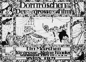Dornröschen (1917): Werbeplakat / © PAGU