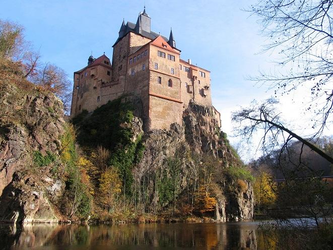 Schneewittchen (2009): Die Burg Kriebstein – hier im Jahr 2008 – dient als Schloss / © Dietmar Grummt/pixelio.de