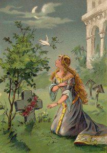 """""""Aschenputtel"""" (1895) / Thekla Brauer"""