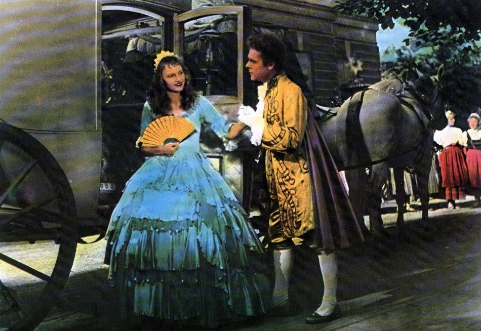 Aschenputtel (1955): Prinz (R. Lichti) und Titelheldin (R.-M. Nowotny) / © Medienproduktion/Vertrieb Genschow