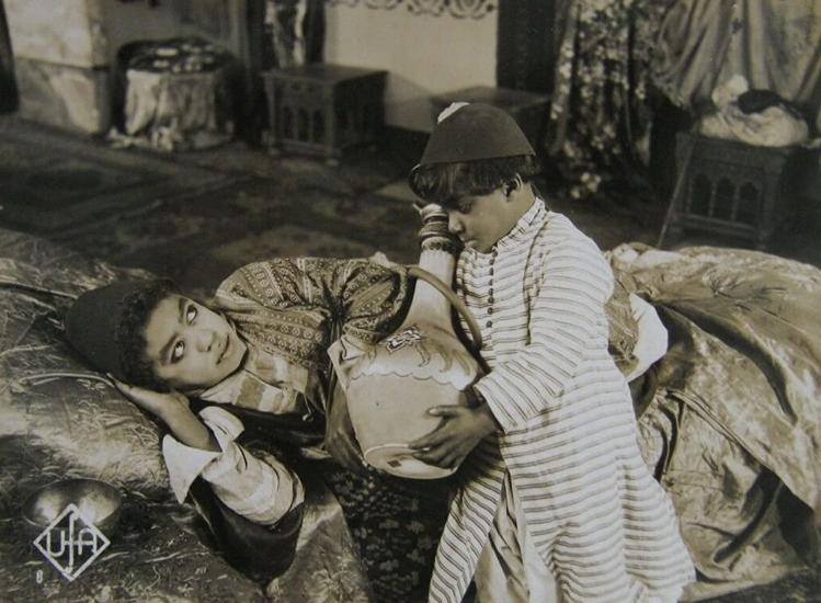 Der kleine Muck (1921): Der schwarze Kinderschauspieler Willy Allen in der Titelrolle / Quelle: Universum-Film AG (Ufa)